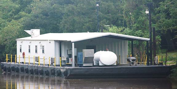 Self-Contained Barge | Jeanerette, LA