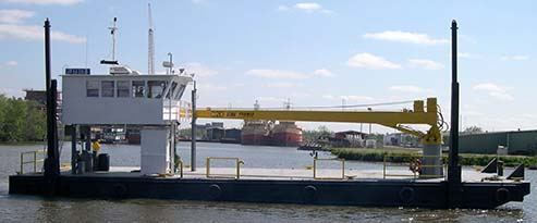 Self-Propelled Crane Barges | Jeanerette, LA